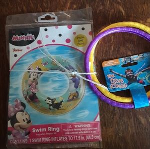 Minnie + Daisy Swim Ring and Dive Rings